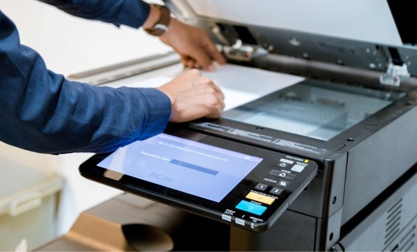using a photocopier